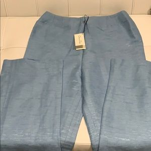 Oscar De La Renta Periwinkle Blue Pants